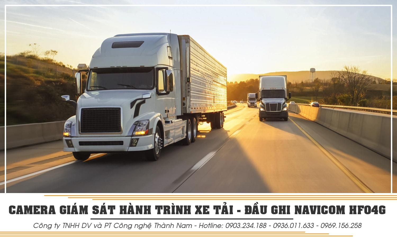 lắp đặt camera hành trình xe tải chính hãng tại thành nam gps
