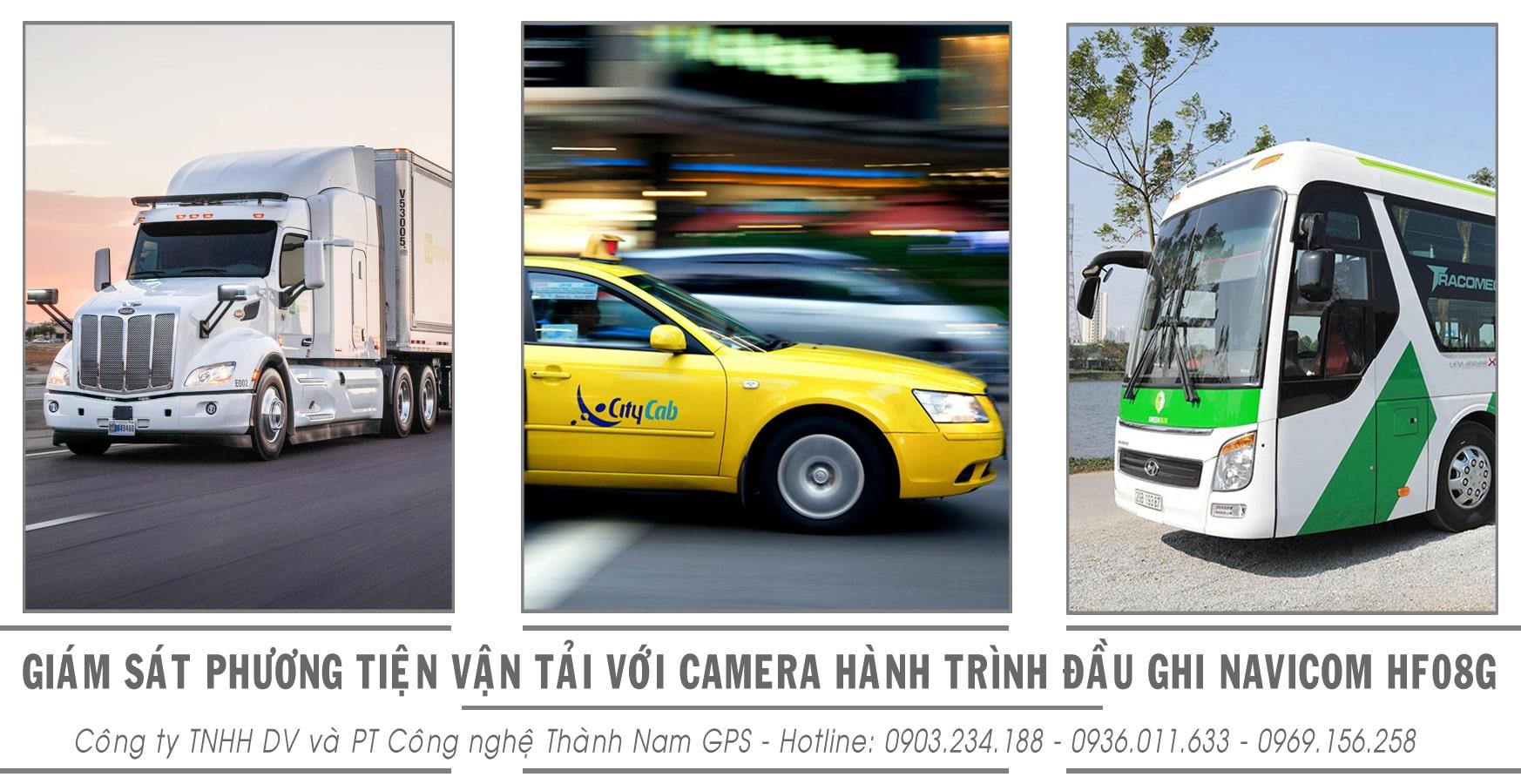 giám sát phương tiện vận tải bằng camera hành trình đầu ghi navicom
