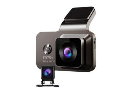 camera hành trình hp f975x 2 mắt trước sau kết nối WIF, GPS
