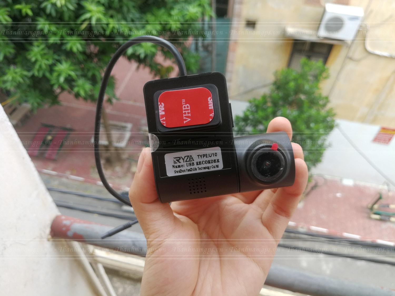 camera hành trình tích hợp màn hình dvd ryza u10 v2