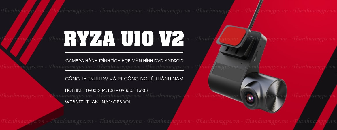 mua camera hành trình ryza u10 v2 chính hãng tại thành nam gps