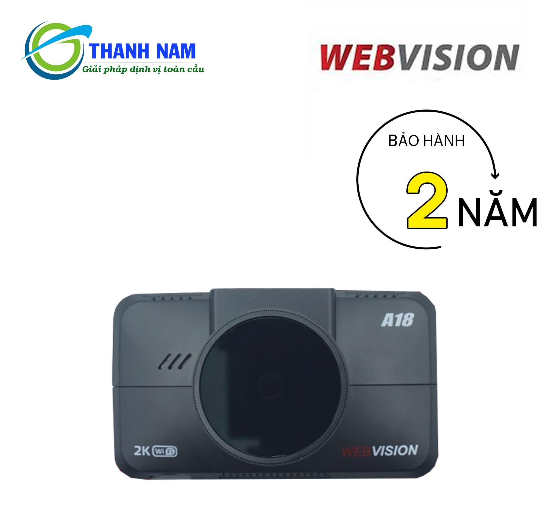 mua camera hành trình webvsision a18 chĩnh hãng tại thành nam gps