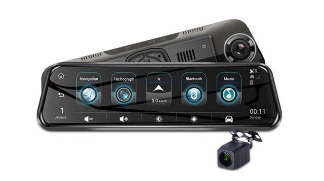 lắp đặt camera hành trình gương navicom m96 plus giá tốt tại thành nam gps