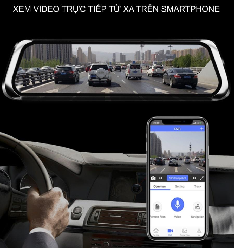 camera giám sát hành trình xe trực tuyến bằng điện thoại di động