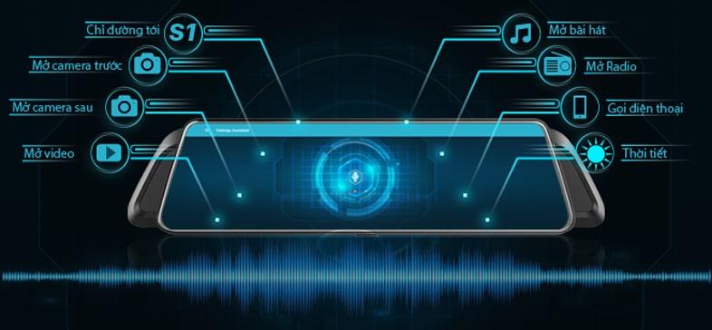 vietmap idvr p2 có khả năng điều khiển bằng giọng nói