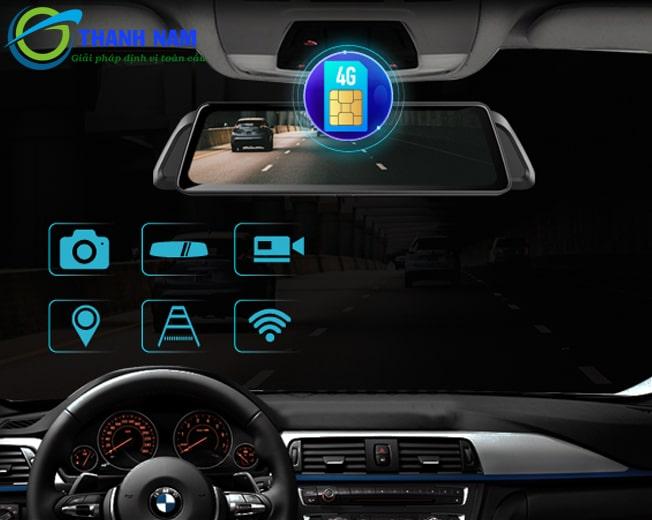camera hành trình gương vietmap idvr 02 là trợ lý lái xe đa năng - thông minh