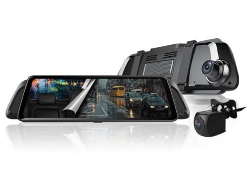 camera hành trình vietmap idvr p2 màn hình gương 10 inch tràn viền