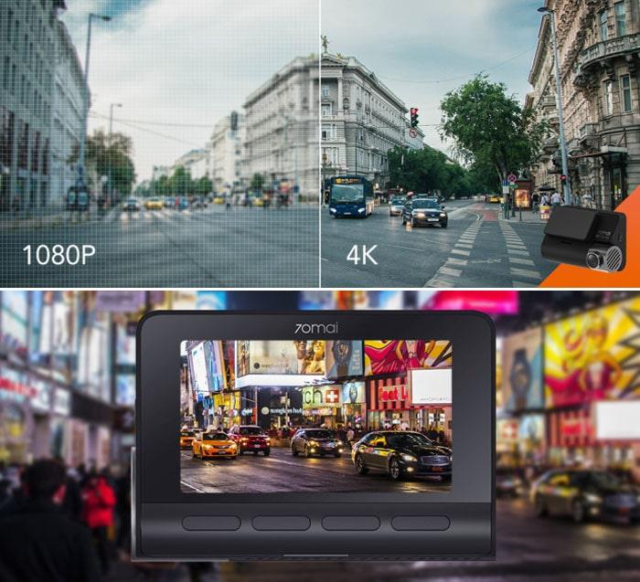 camera hành trình ghi hình 4k siêu sắc nét