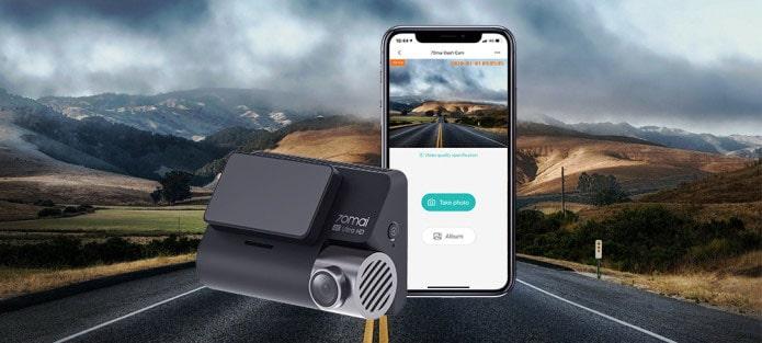 camera hành trình đa năng kết nối wifi, gps