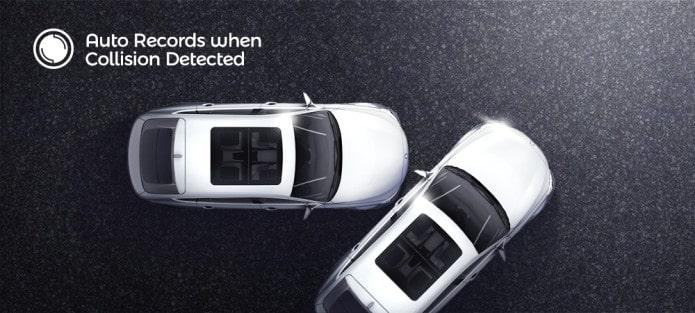 xiaomi 70mai a800 có chế độ giám sát bãi đậu xe, giúp bảo vệ ô tô 24/24