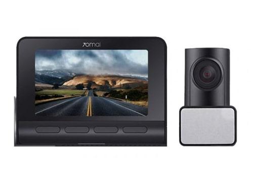 camera hành trình xiaomi 70mai a800 ghi hình 4k 2 mắt, tích hợp gps, kết nối wifi