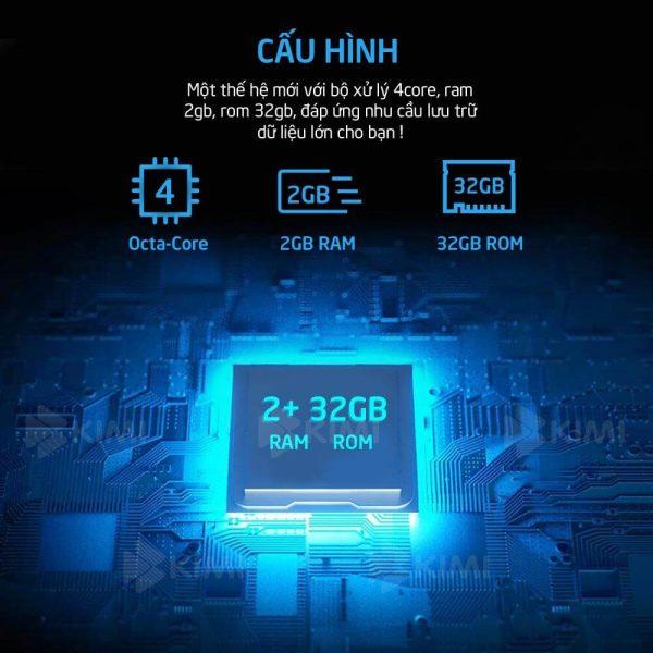 cầu hình khủng của màn dvd android kimi k1