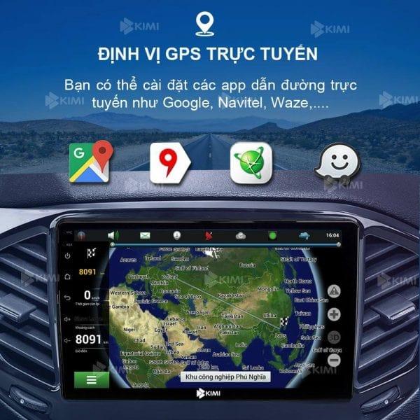 dẫn đường chuẩn xác bằng google maps, navitel...