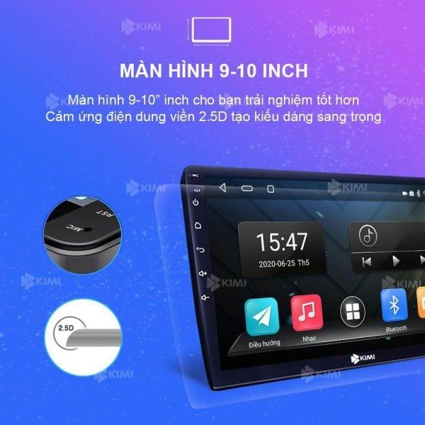 màn hình rộng 9 - 10 inch của kimi k2
