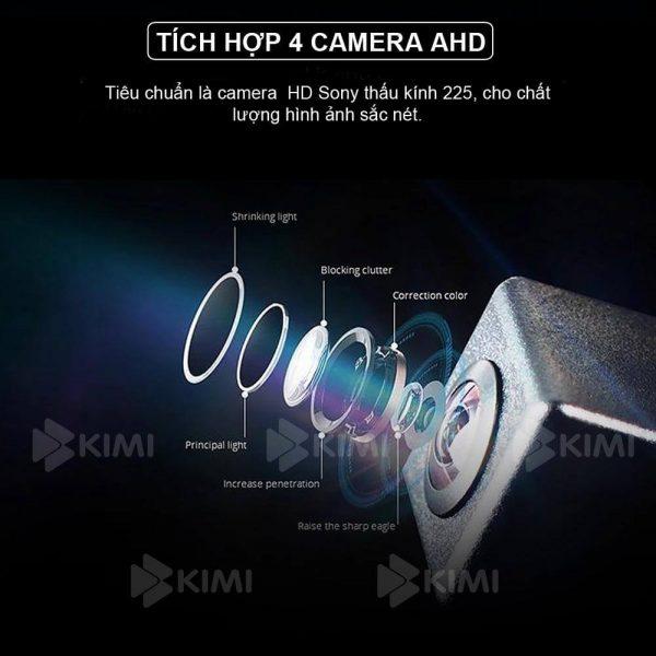 màn hình dvd xe hơi tích hợp camera ghi hình sắc nét
