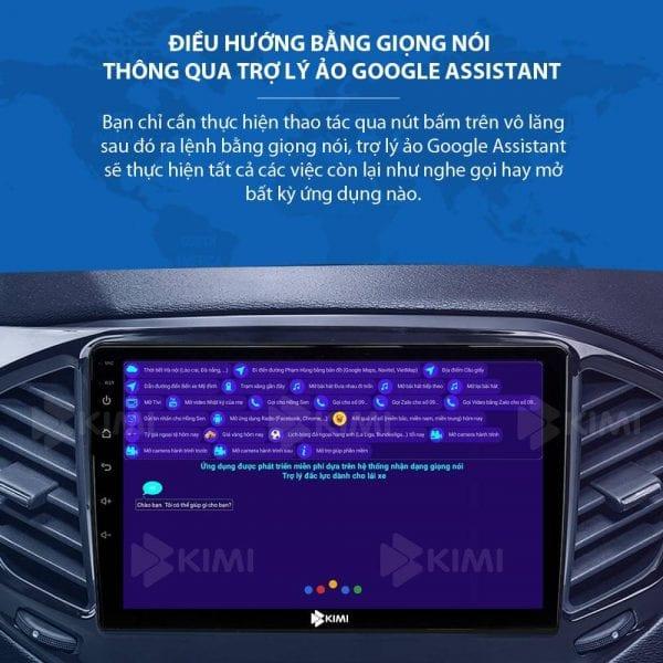 tính năng điều khiển màn hình dvd android ô tô bằng giọng nói