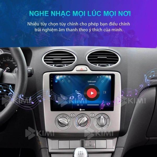 nghe nhạc trên màn hình dvd của ô tô