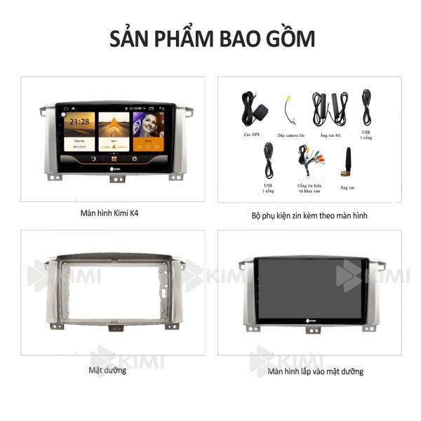 mua màn hình ô tô dvd android kimi k4 chính hãng - giá tốt tại thành nam gps