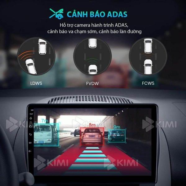 lái xe an toàn khi lắp đặt kimi k4 với hệ thống cảnh báo lái xe adas