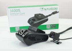 Camera hành trình Navicom J400S – 2 mắt trước sau, giám sát trực tuyến từ xa