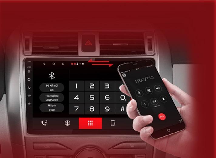 đàm thoại rảnh tay- lái xe an toàn với màn hình dvd vietmap