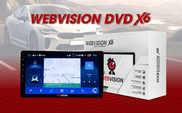 thiết kế sang trọng - tinh tế của webvision x6