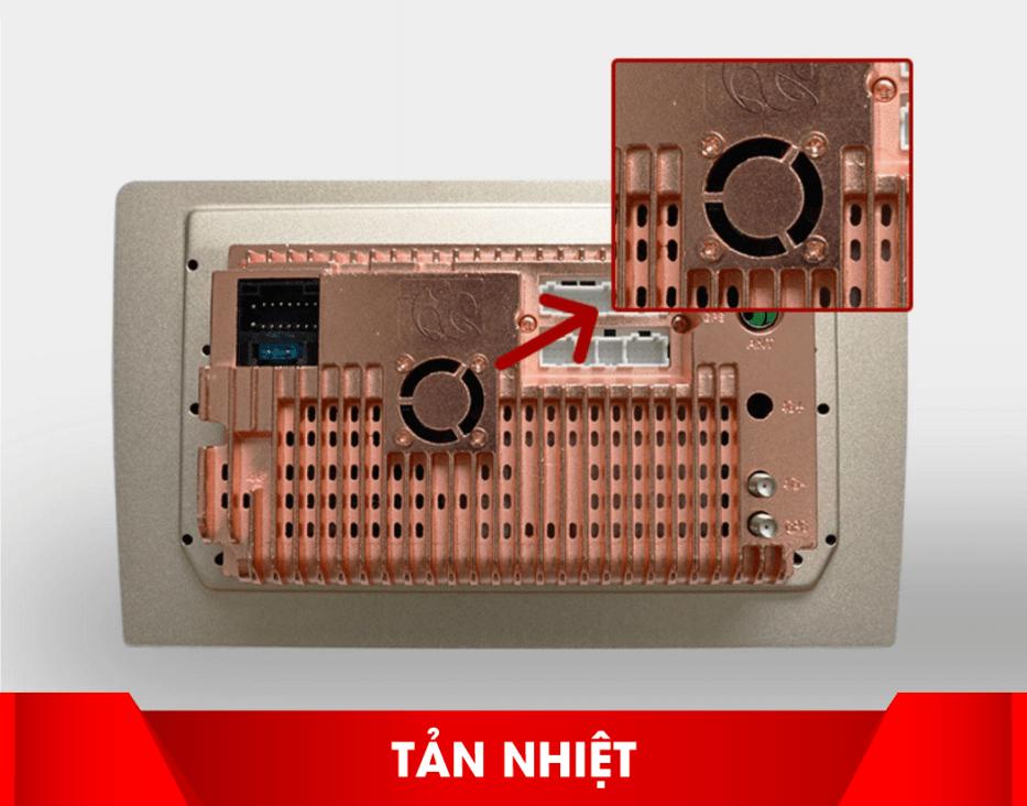 đế tản nhiệt giúp webvision x8 hoạt động ổn định bền bỉ hơn