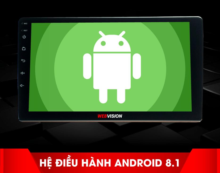 màn hình dvd android 8.1