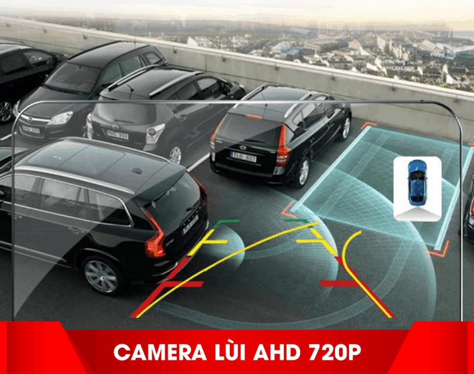 kết nối với camera hành trình, camera lùi. camera 360, cảm biến áp suất lốp