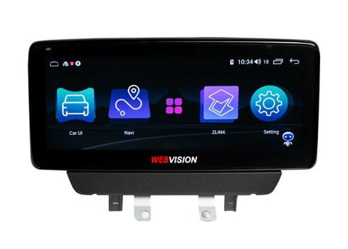 màn hình ô tô dvd webvision mazda 2 hai hệ điều hành