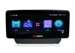 Màn hình ô tô DVD Webvision Mazda 3 hai hệ điều hành