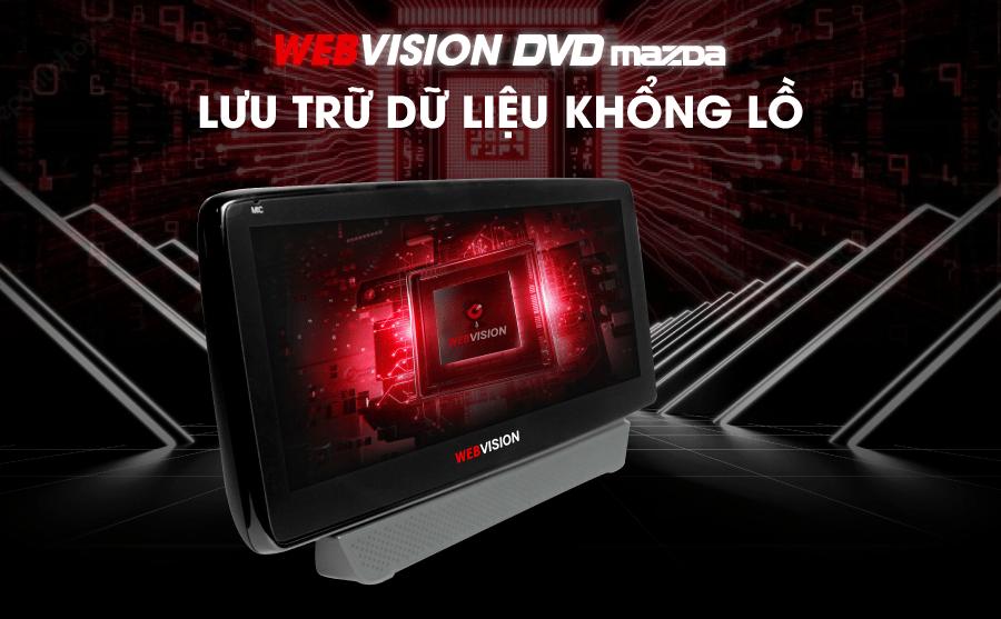 màn hình dvd webvision có cấu hình mạnh mẽ