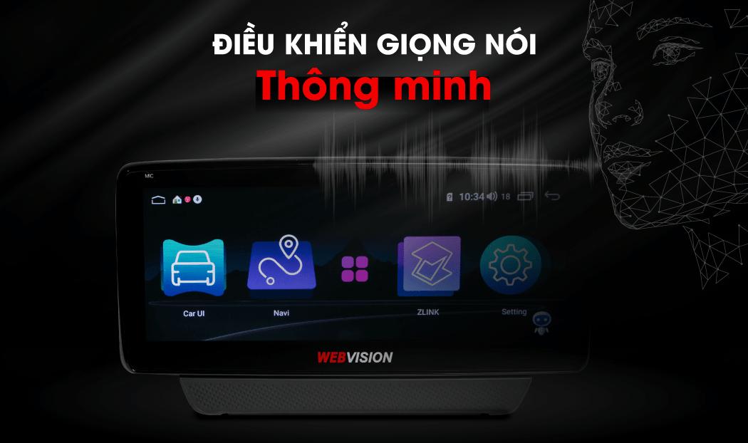 màn hình dvd điều khiển giọng nói với công nghệ ai