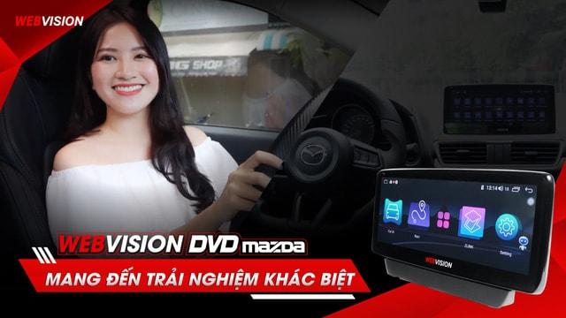 lắp đặt màn hình webvision mazda tiện ích tại Thành Nam GPS