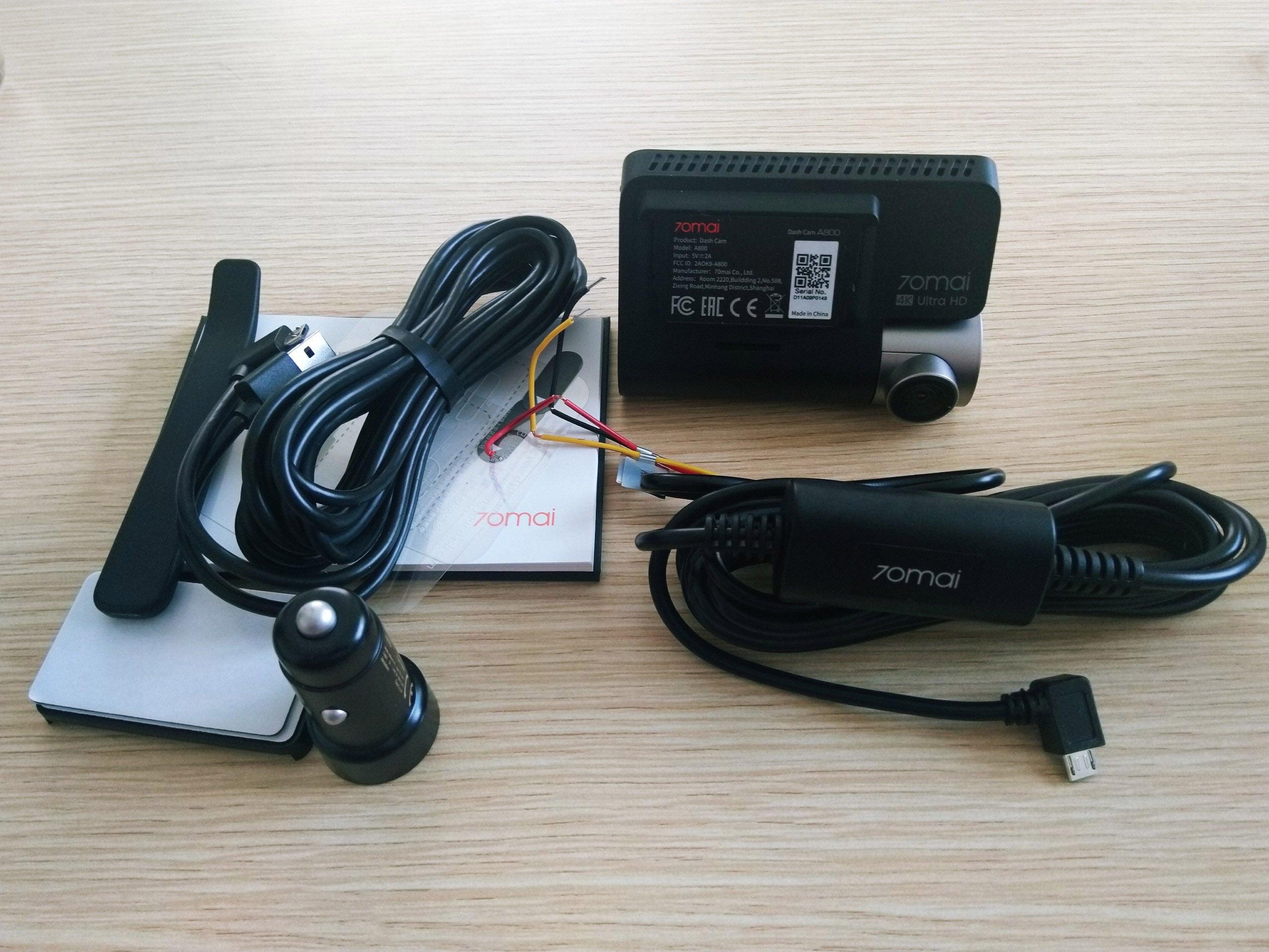 bộ kit nguồn đấu điện với camera hành trình xiaomi 70mai