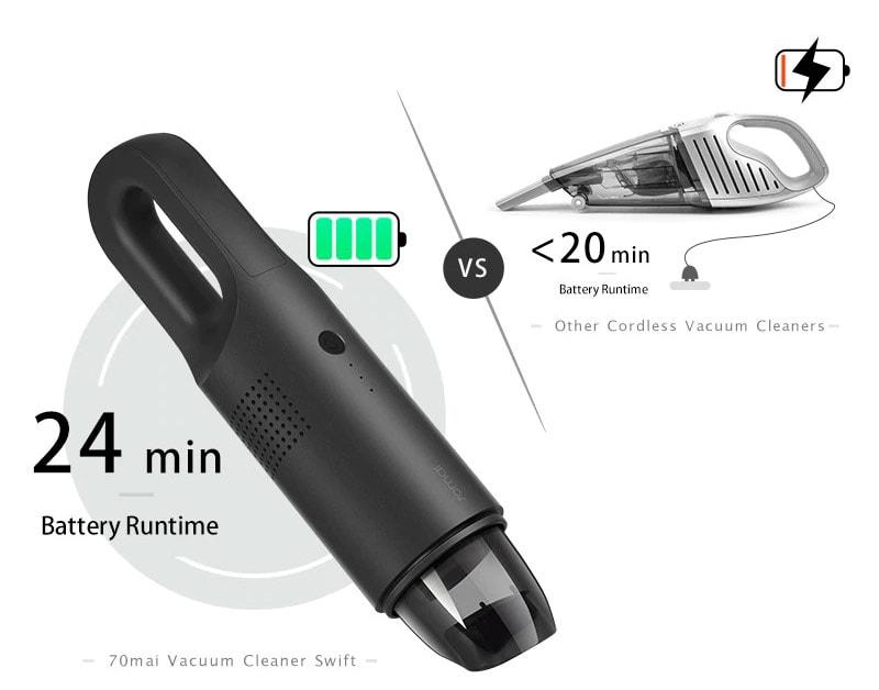 70mai vacuum có lực hút cực mạnh