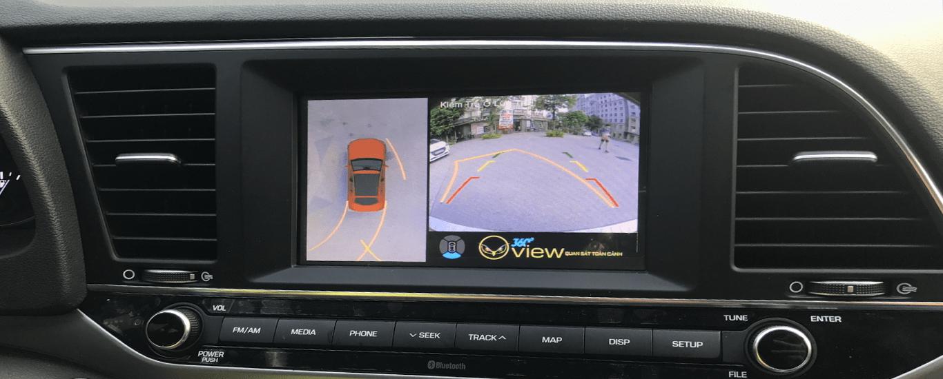 lái xe an toàn - hạn chế điểm mùa với camera oview 360 độ