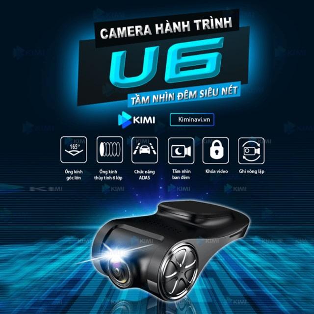 camera hành trình ô tô giá rẻ u6