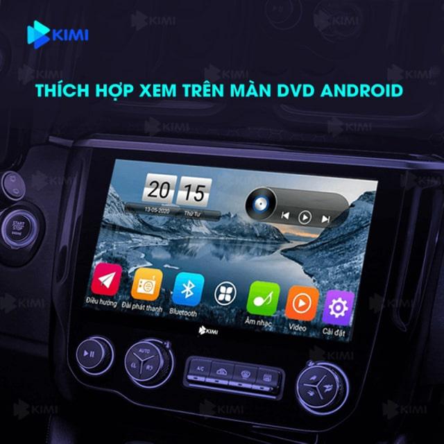 camera hành trình tích hợp màn hình dvd của xe ô tô