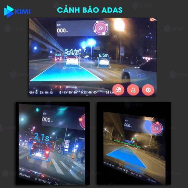 camera hành trình cảnh báo giao thông