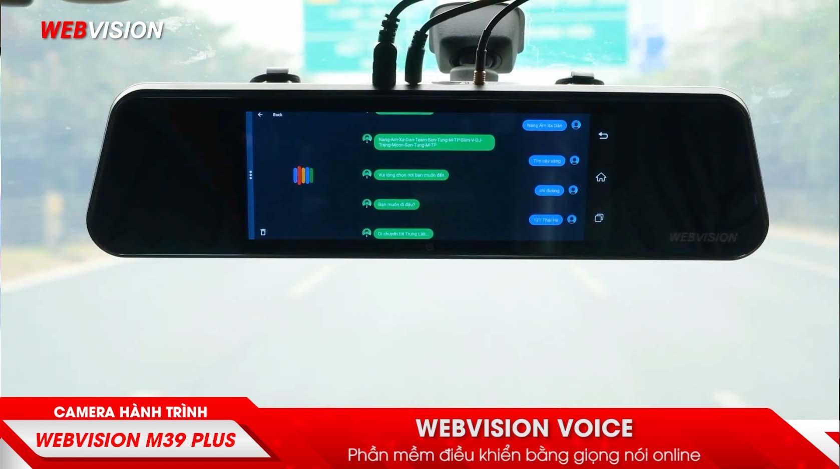 webvision voice điều khiển giọng nói 2 lớp