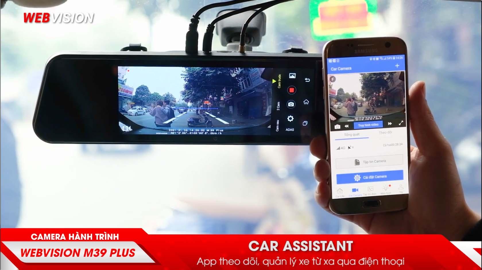 định vị - giám sát ô tô trực tuyến bằng webvision m39 plus