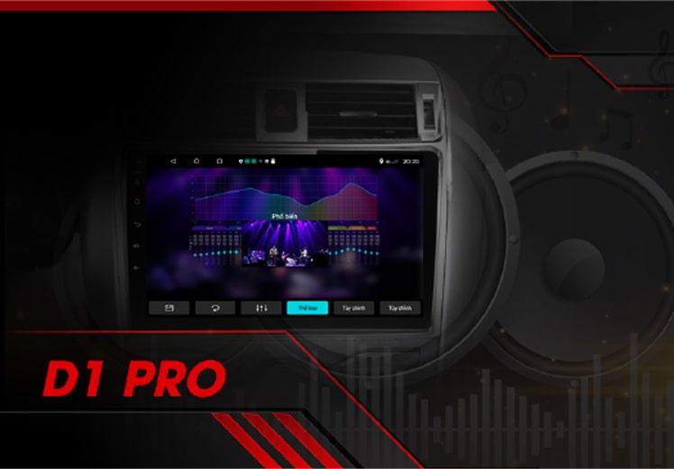 nghe nhạc siêu hay trên ô tô khi có màn hình dvd android vietmap lenovo d1 pro