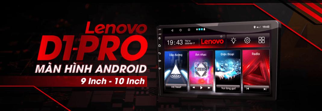 màn hình dvd android vietmap lenovo d1 pro