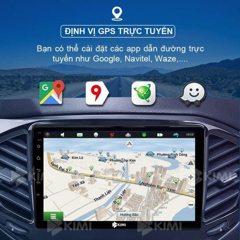 dẫn đường qua google map, navitel, vietmap s1