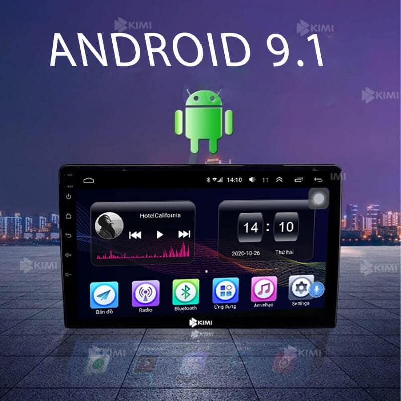 hệ điều hành android 9.1 giao diện dễ sử dụng