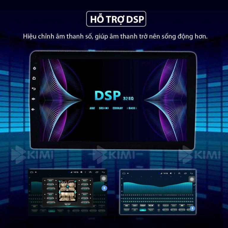 nghe nhạc hay hơn với kimi k3 pro khi có công nghệ DSP
