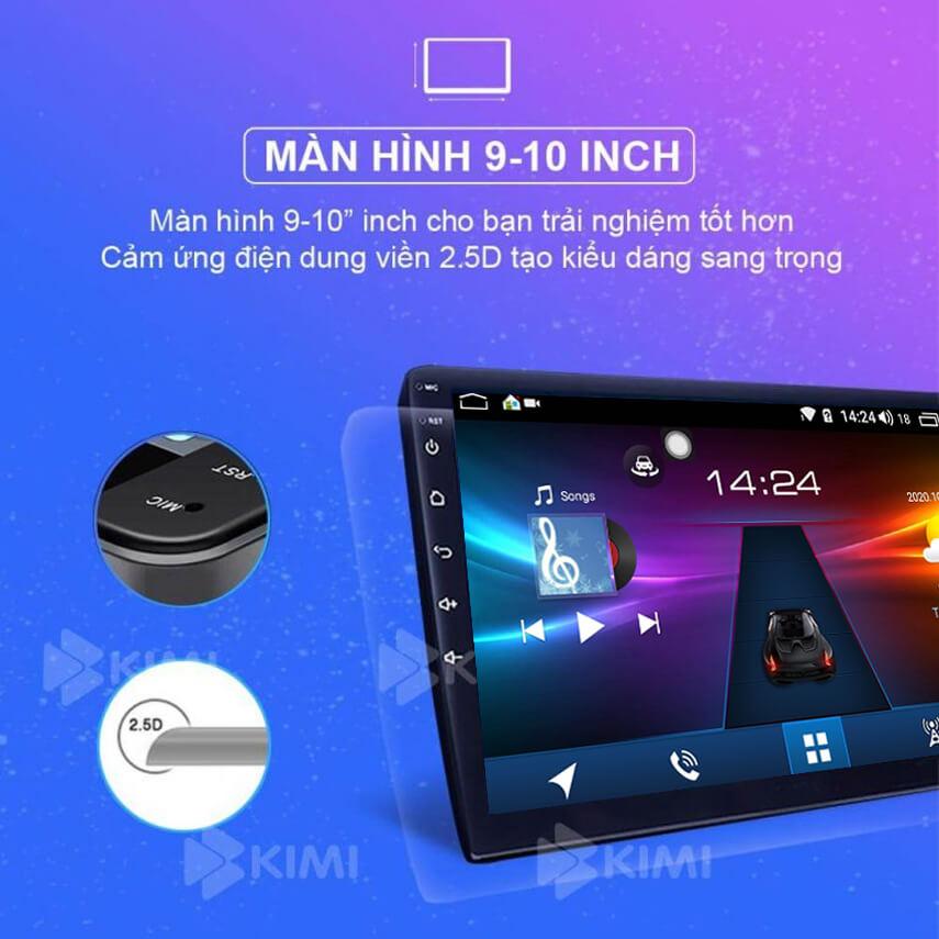 kích thước màn hình chuẩn của kimi k360 pro