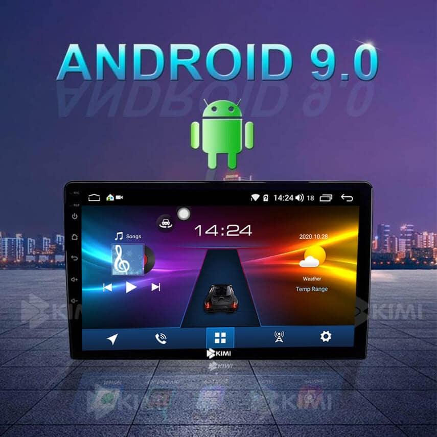 kimi k360 pro sở hữu hệ điều hành androdi 9.0