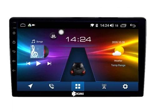 màn hình ô tô dvd android kimi k360 pro liền cam 360 độ